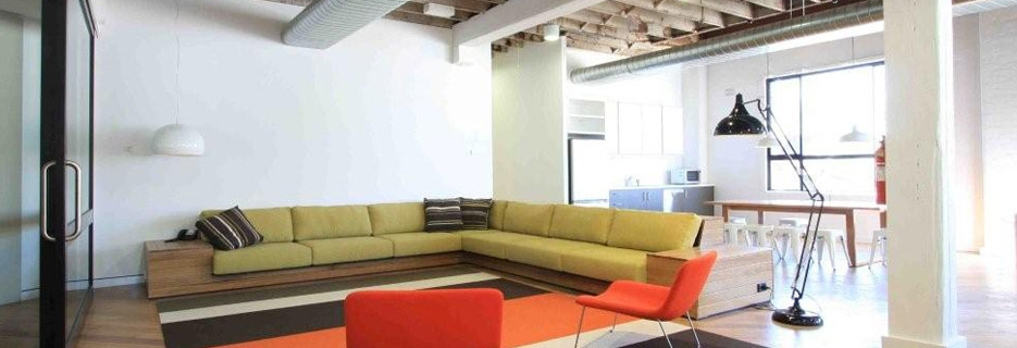 Modern office space fit out